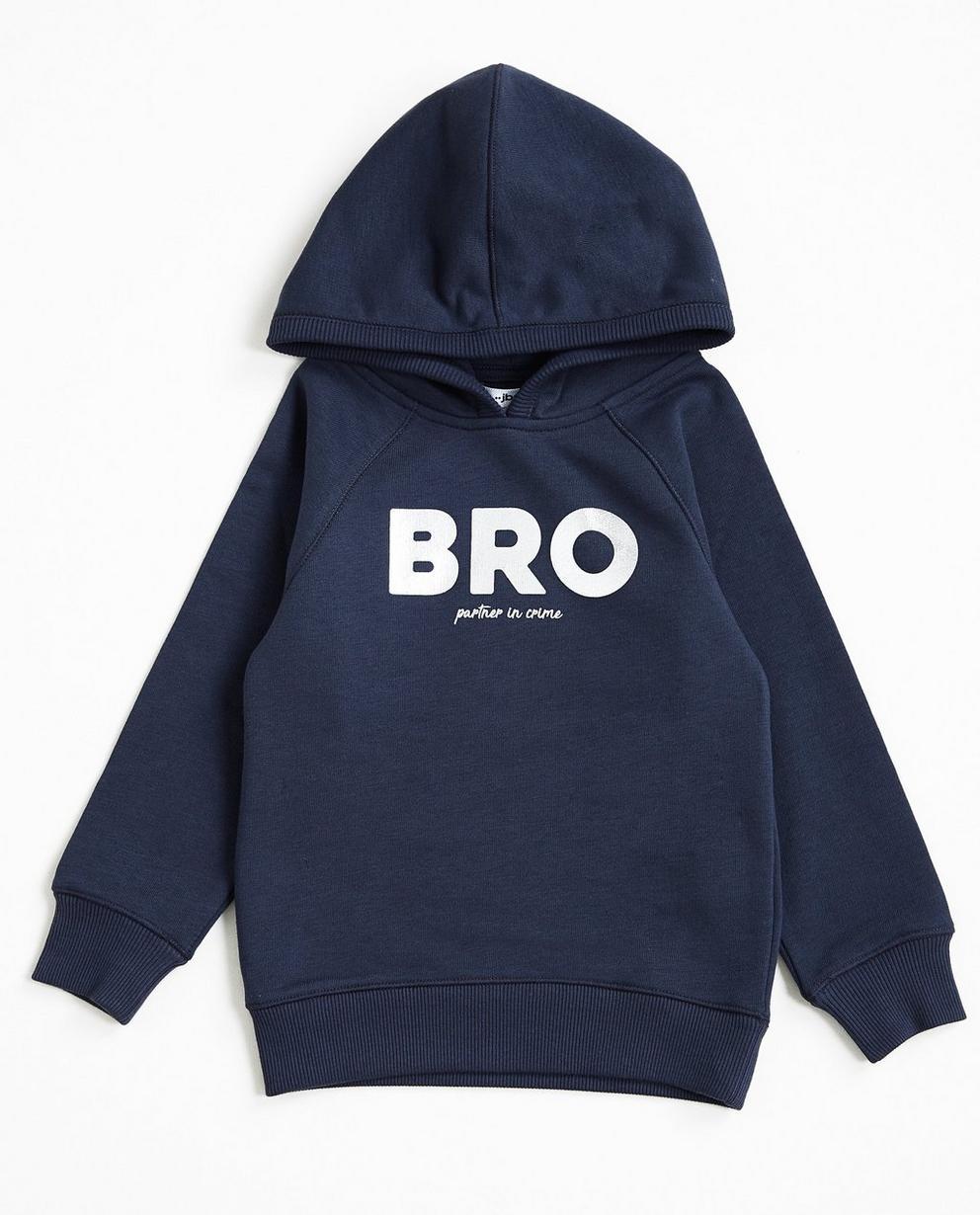 Nachtblauwe hoodie - #familystoriesjbc - JBC
